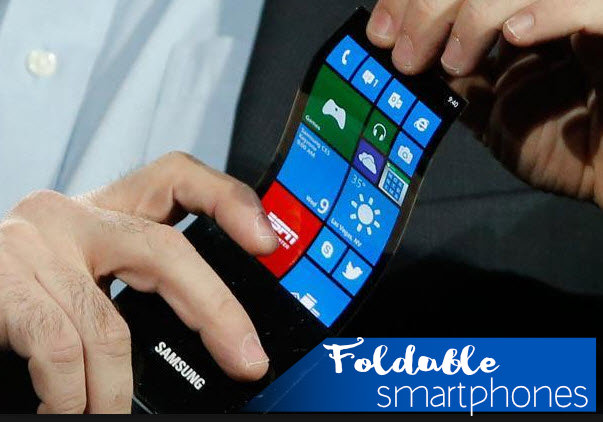 Foldable smartphones could be possible in 2019