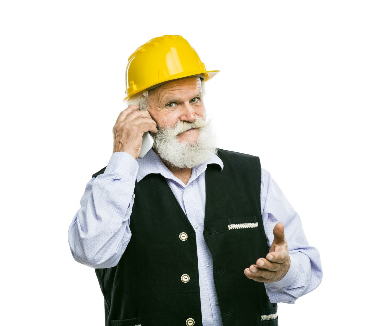 senior-plumber-with-yellow-helmet-calling-on-the-phone